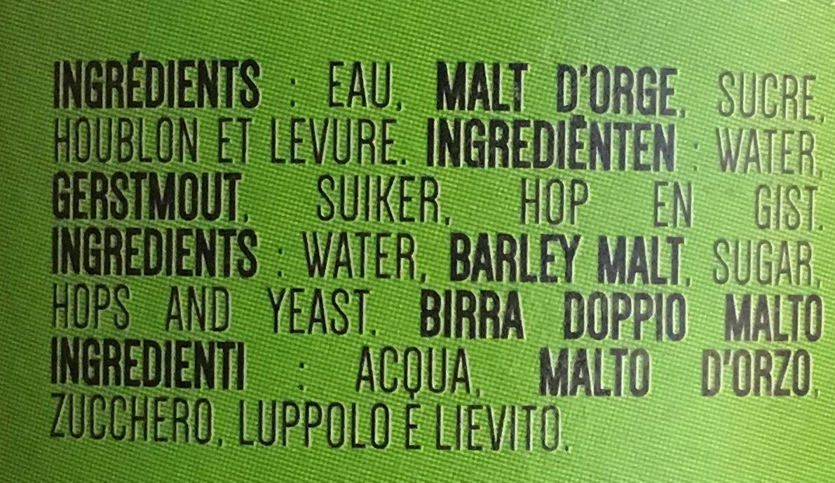 Hop harvest - Ingrediënten