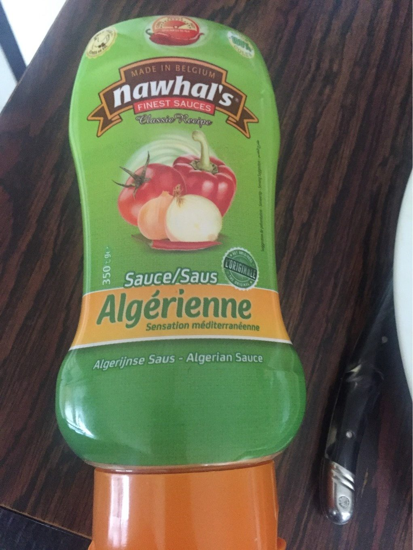 Sauce algerienne - Produit - fr