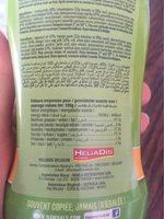 Sauce algerienne - Informations nutritionnelles - fr