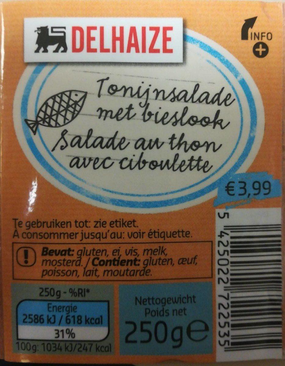 Salade au thon avec ciboulette - Produit - fr
