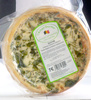Quiche artisanale 100% naturel - Produit