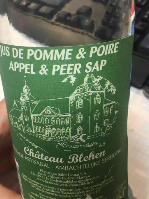 Jus de pomme & poire - Producto