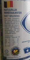 Ginstberg - Informations nutritionnelles - fr