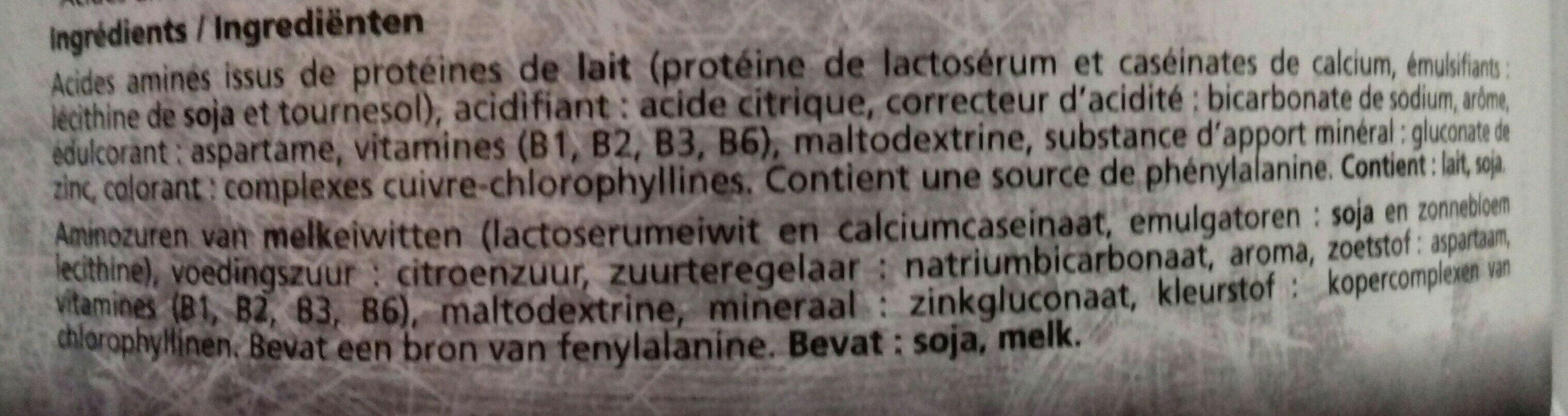 Muscle optizone - Ingredients
