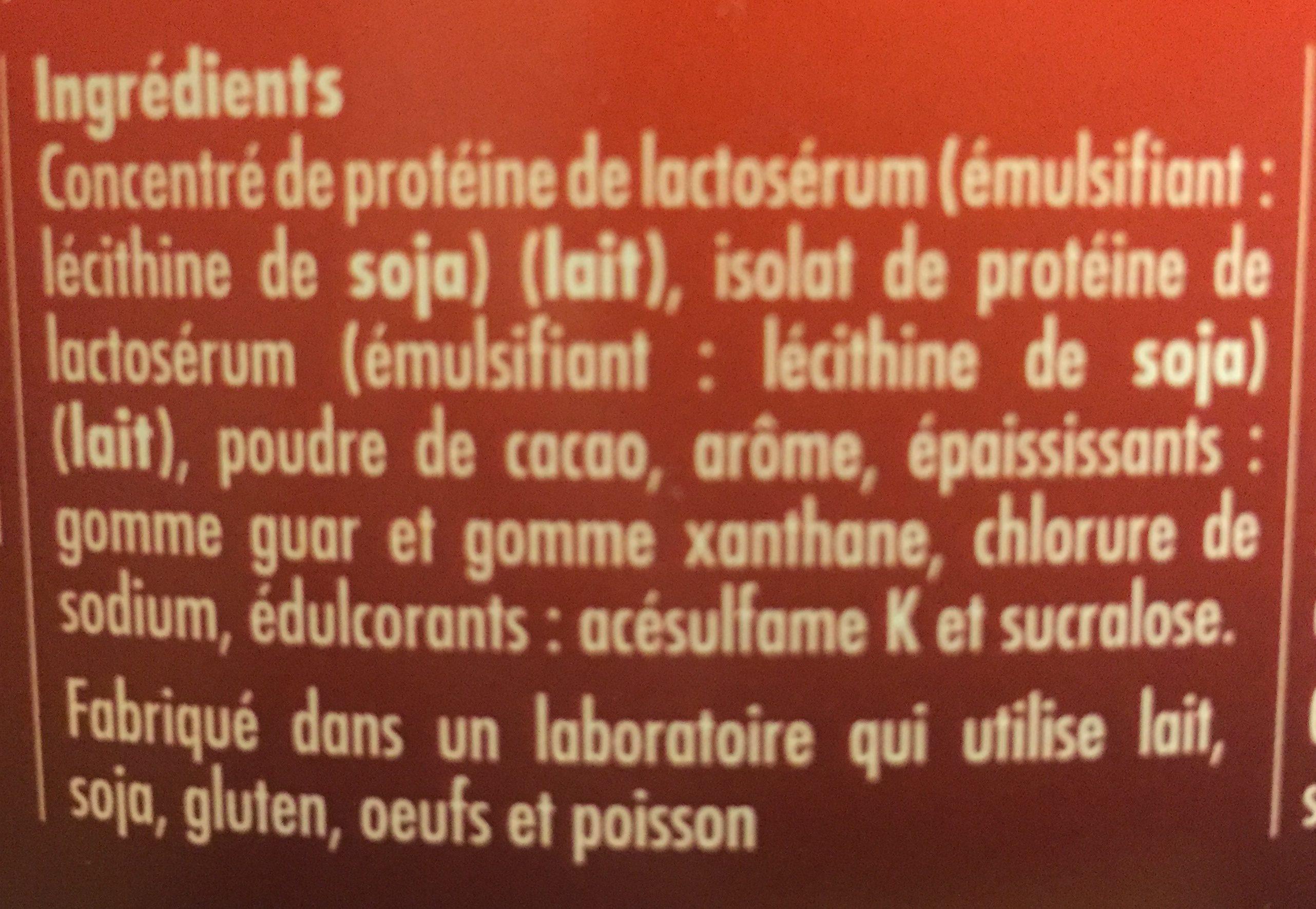 WHEYULTRA - Ingrédients - fr