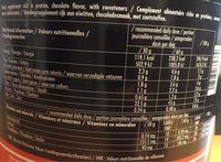WHEYULTRA - Informations nutritionnelles - fr