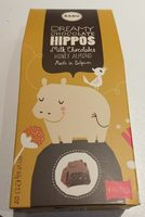 Hippos - Milk Chocolates Honey Almond - Produit - fr