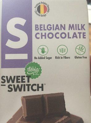 Belgian milk chocolate - Product