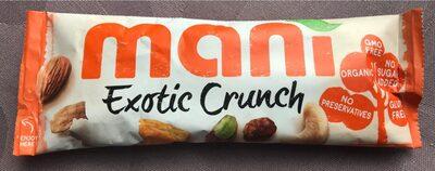 Exotic Crunch 45GR Bio - MANI - Voedigswaarden