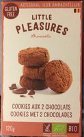 Cookies aux 2 chocolats - Product
