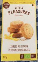 Sablés au citron - Product - fr