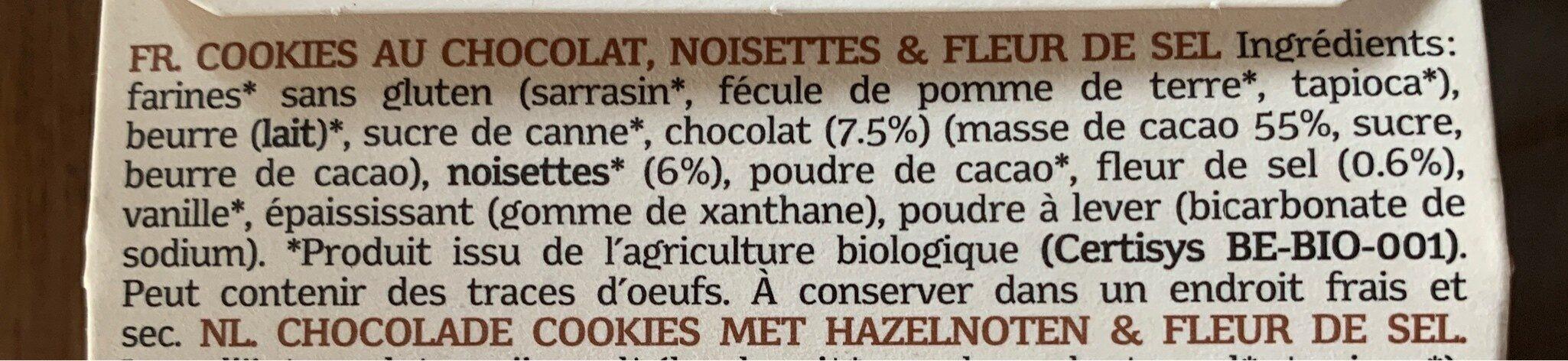Charlotte chocolat - Ingredients