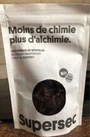 Croquants de myrtilles - Product