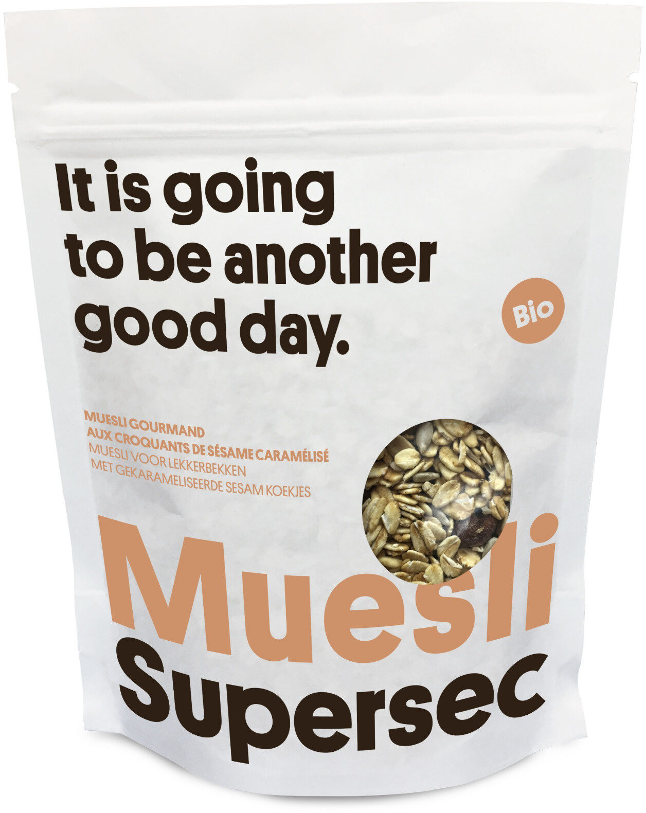 Muesli gourmand aux croquants de sésame caramélisé - Voedingswaarden - fr