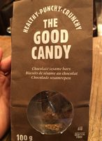 Biscuits de sesame au chocolat - Produit