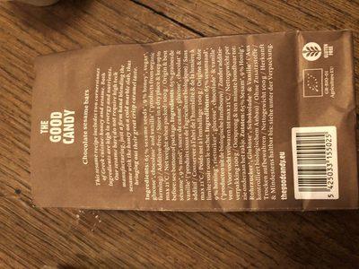 Biscuits de sesame au chocolat - Ingrédients