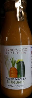 Soupe du chef 5 légumes - Produit - fr