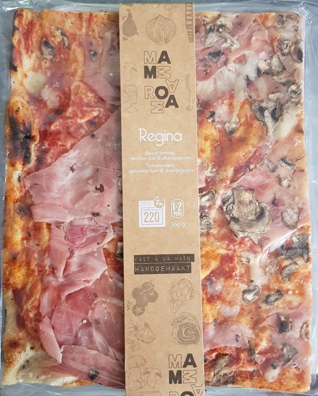 Pizza regina - Product