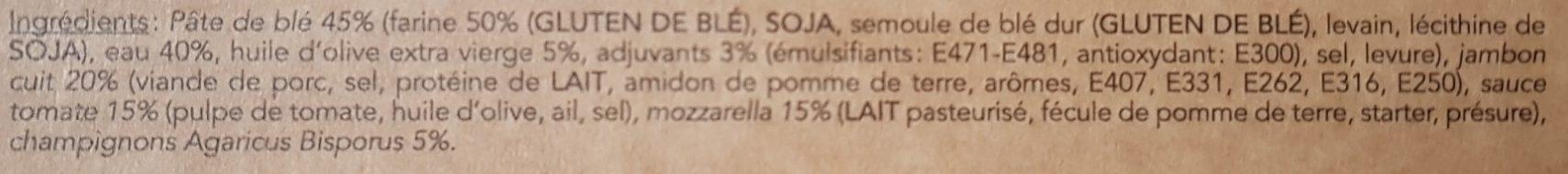 Pizza regina - Ingredients