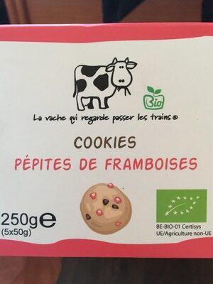 Cookies pepites de framboises - Product - fr