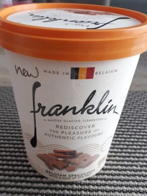 Glace au Speculoos Belge et Pointe de Sel Marin - Product
