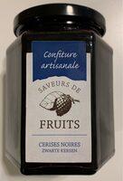 Confitures de Cerises Noires - Product - fr