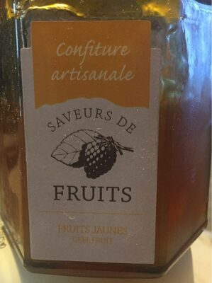 Confiture fruits jaunes - Product - fr