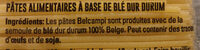 Belcampi - Ingrediënten