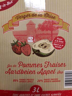Jus de pomme fraise - Product - fr