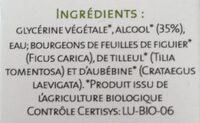 Alpha GEM sommeil - Ingredients - fr