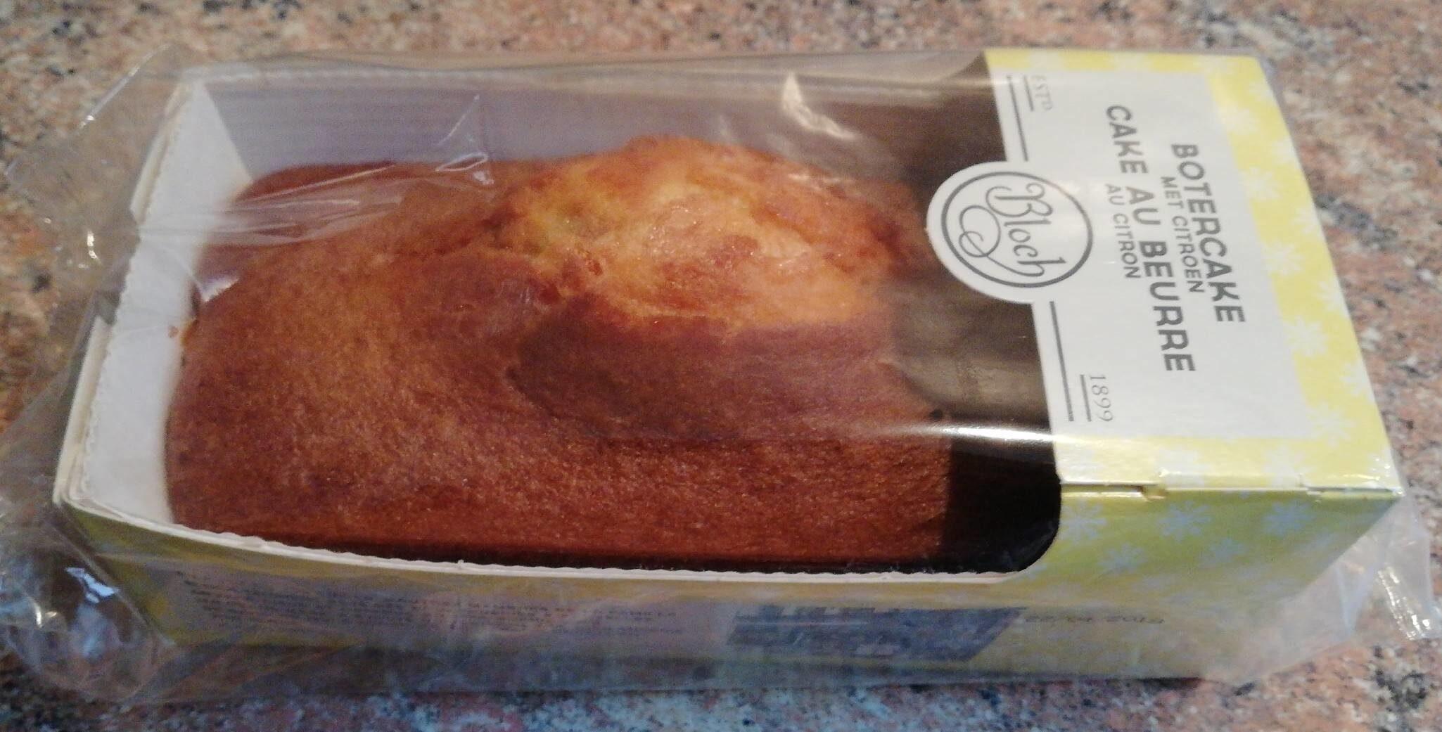 Cake au beurre au citron / Botercake met citroen - Product
