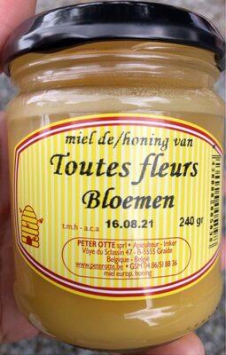 Honing van bloemen - Product - fr