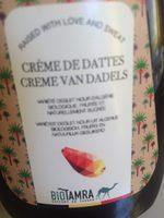 Crème de dattes - Produit
