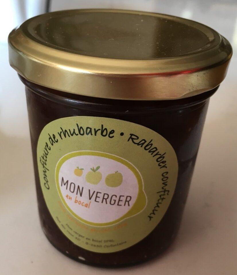 Confiture de rhubarbe - Product - fr