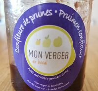 Confiture de prunes - Product