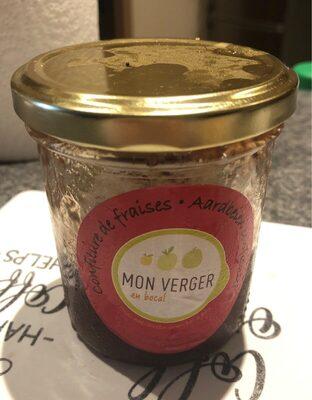 Confiture bio fraise mon verger - Product - fr