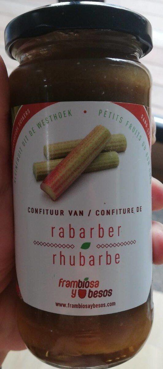 Confiture de rhubarbe - Product