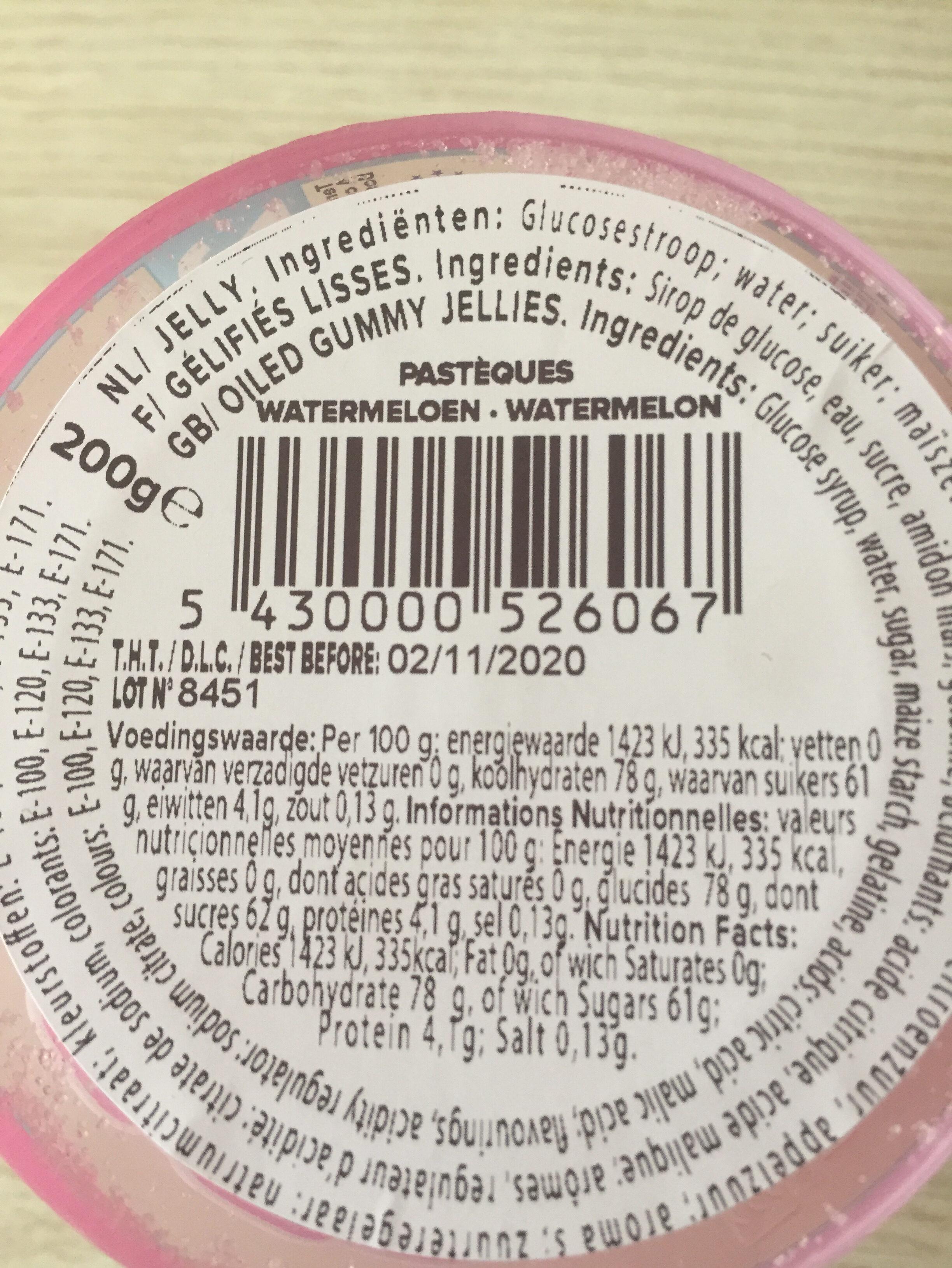 Belloo Sweets - Ingrediënten - nl