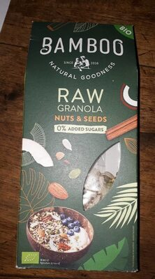 Raw Granola Nuts & Seeds - Product