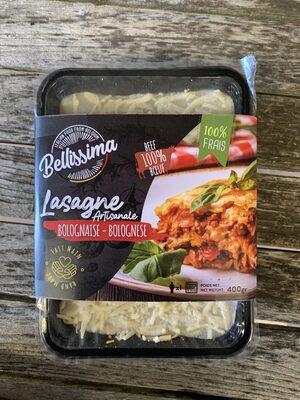 Lasagne bolognaise Bellissima - Product - fr