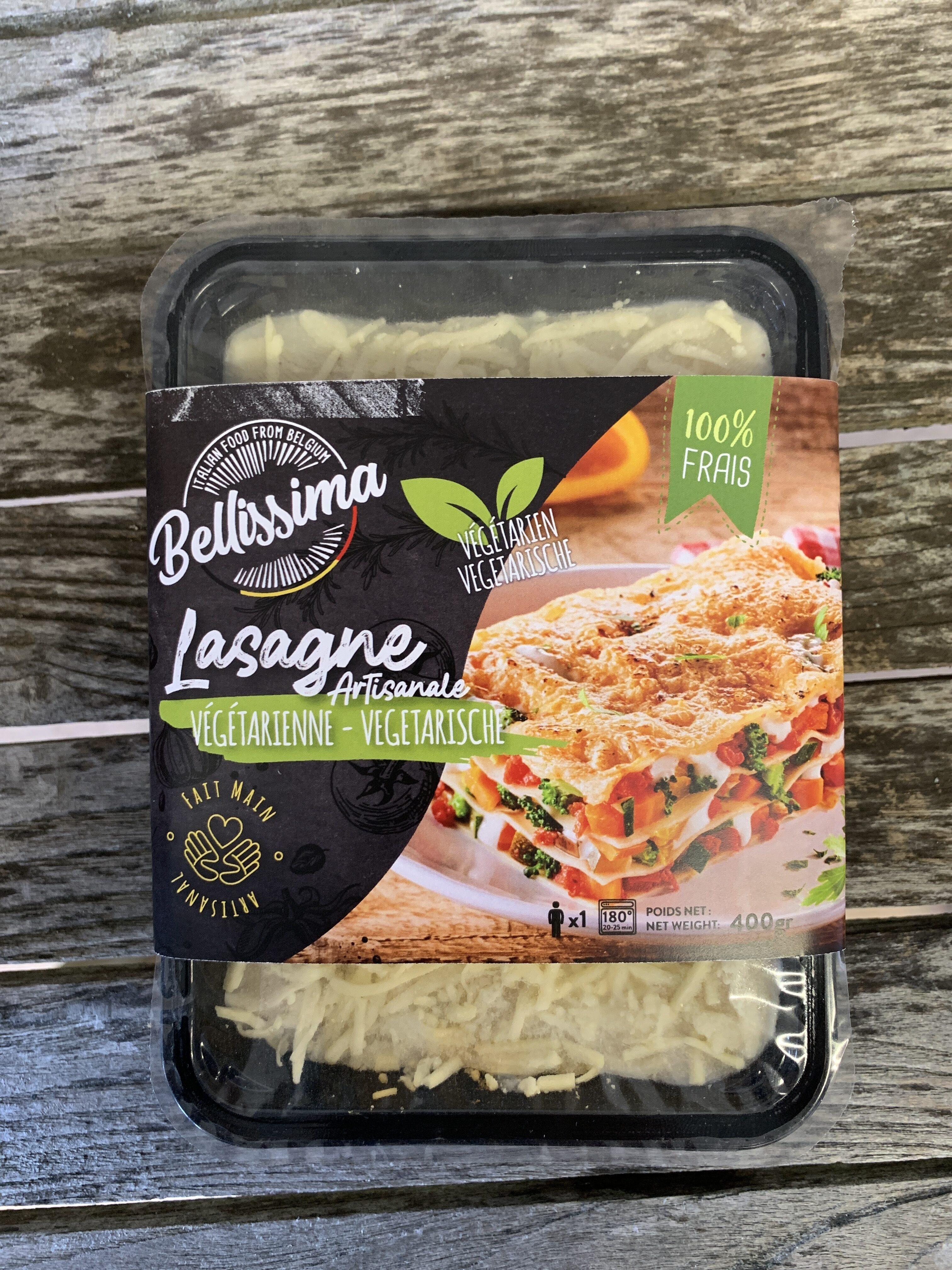 Lasagne végétarienne Bellissima - Product - fr