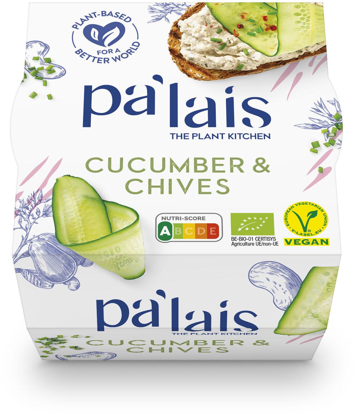 Pa'lais Cucumber & Chives - Produit - fr