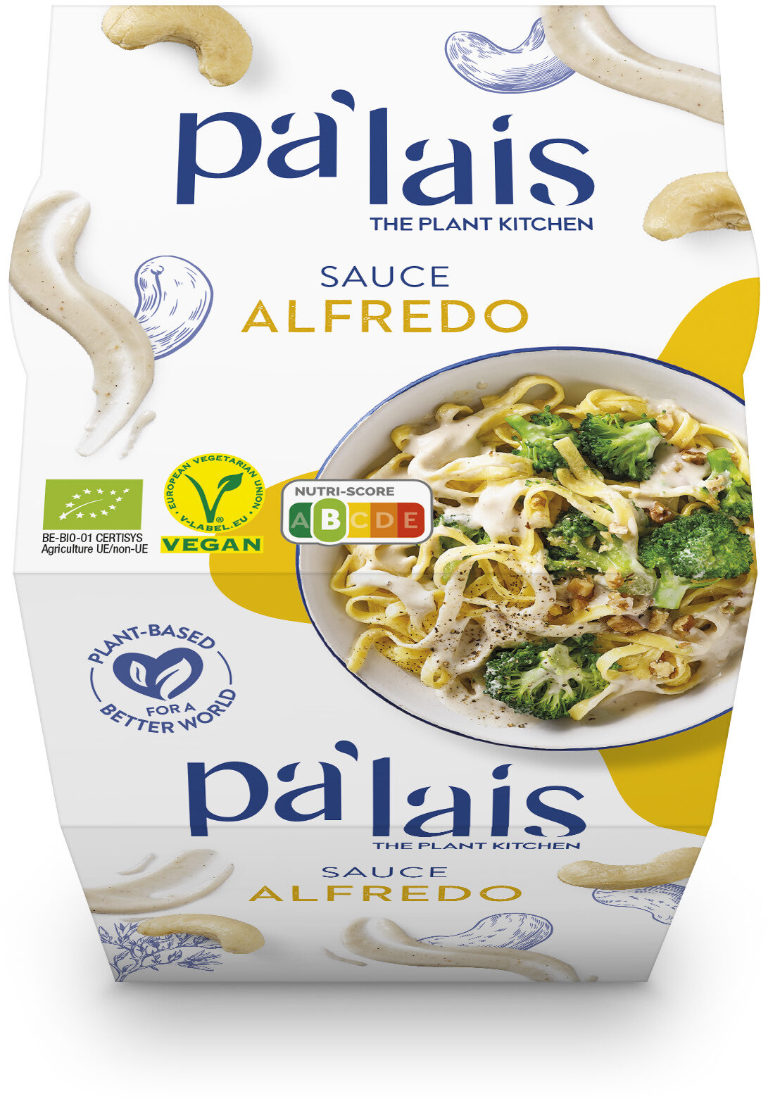 Pa'lais Sauce Alfredo - Produkt - en