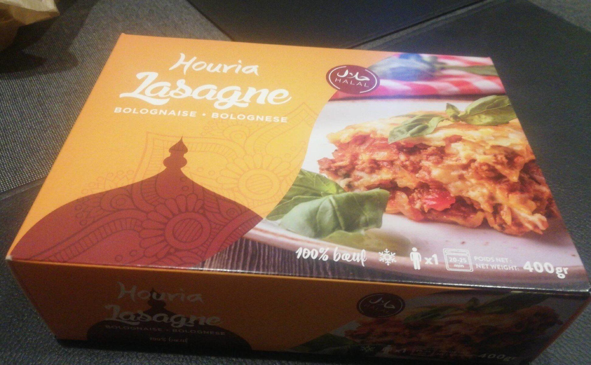 Lasagne Bolognaise 100% boeuf - Product - fr