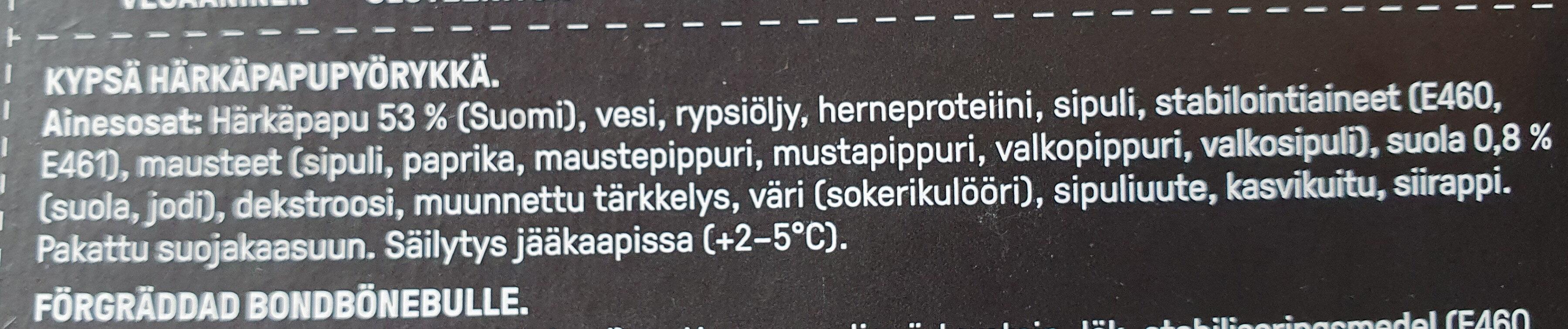 Härkis Pyörykkä - Ingrédients - fi