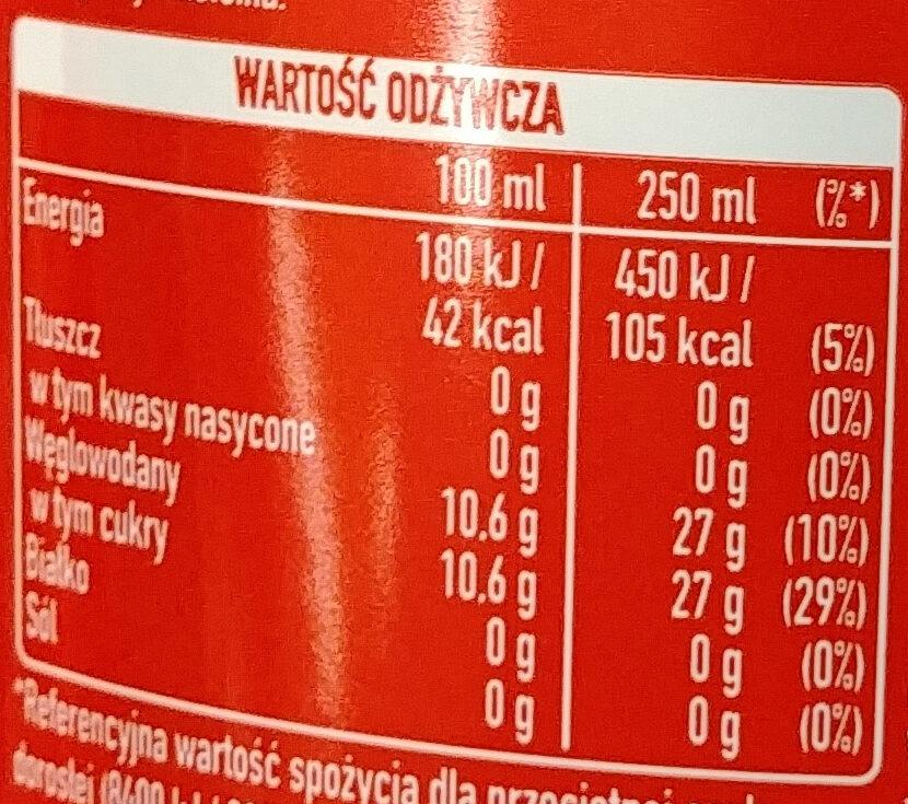Coca Cola - Nutrition facts - en
