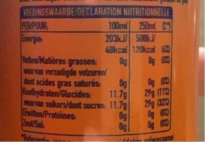 Fanta - Informations nutritionnelles - fr