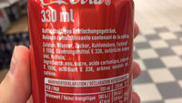 Coca-Cola - Inhaltsstoffe