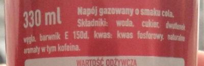 Coca-Cola - Składniki - pl