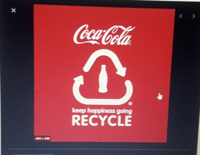 Coca Cola - Recycling instructions and/or packaging information - en